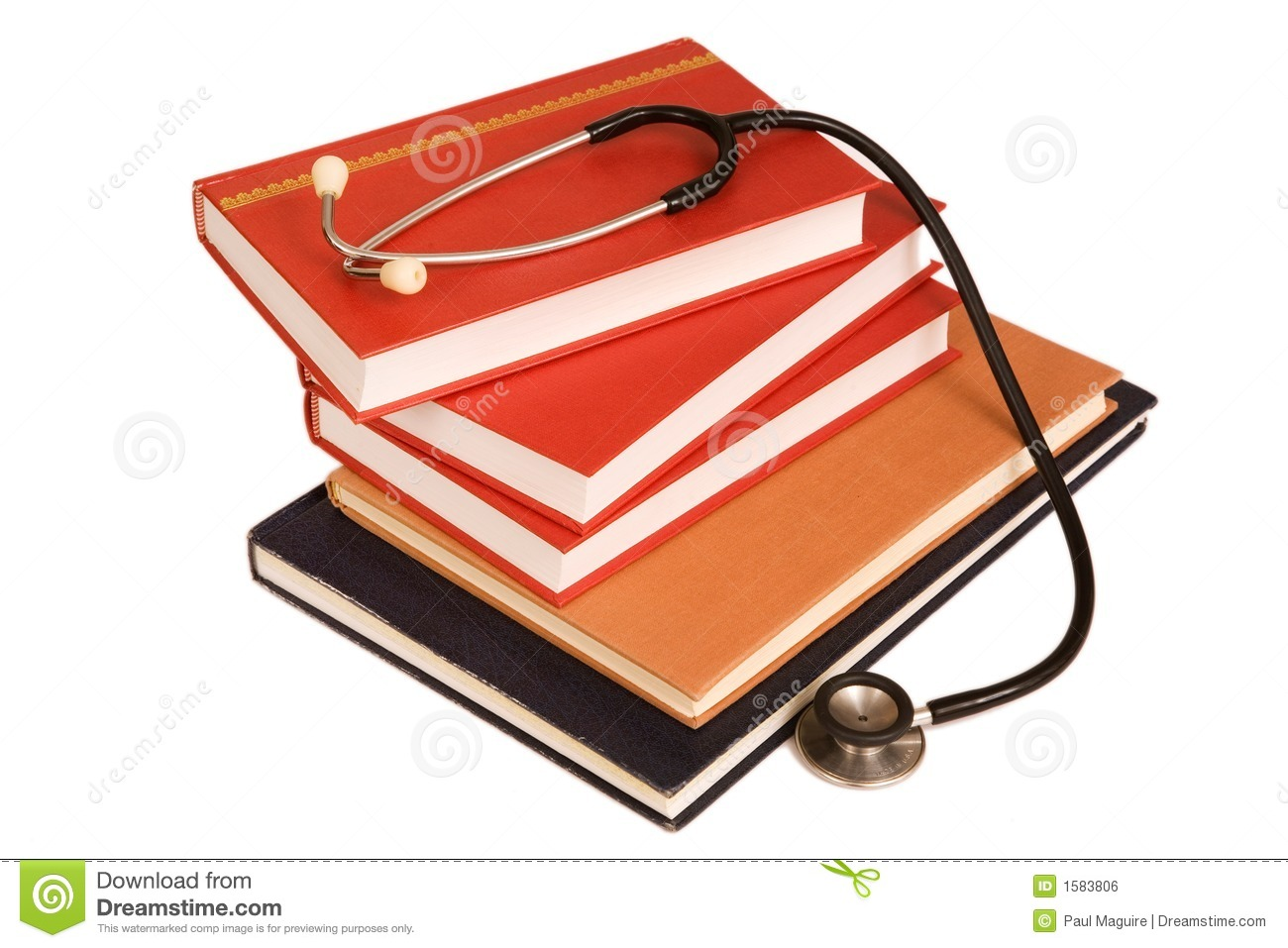 Medical Text Books Stock Photo Image Of Book Hospital 1583806