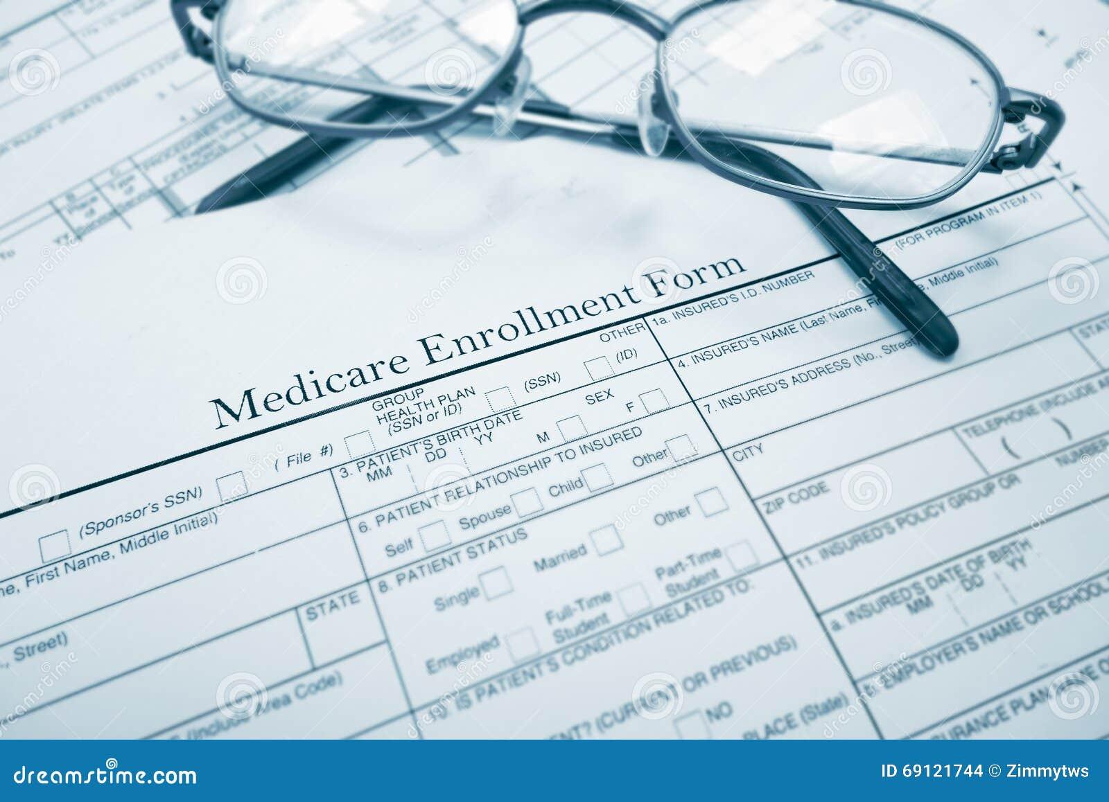 Medicare μορφή εγγραφής