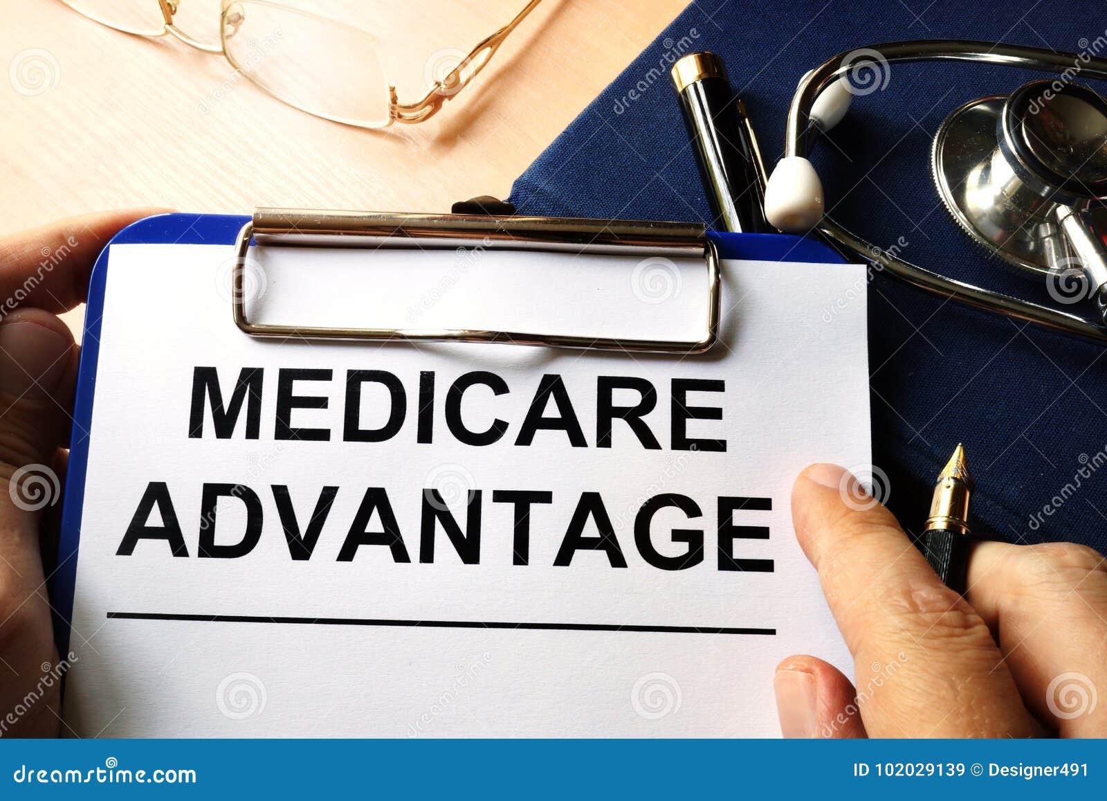 Medicare πλεονέκτημα σε μια περιοχή αποκομμάτων