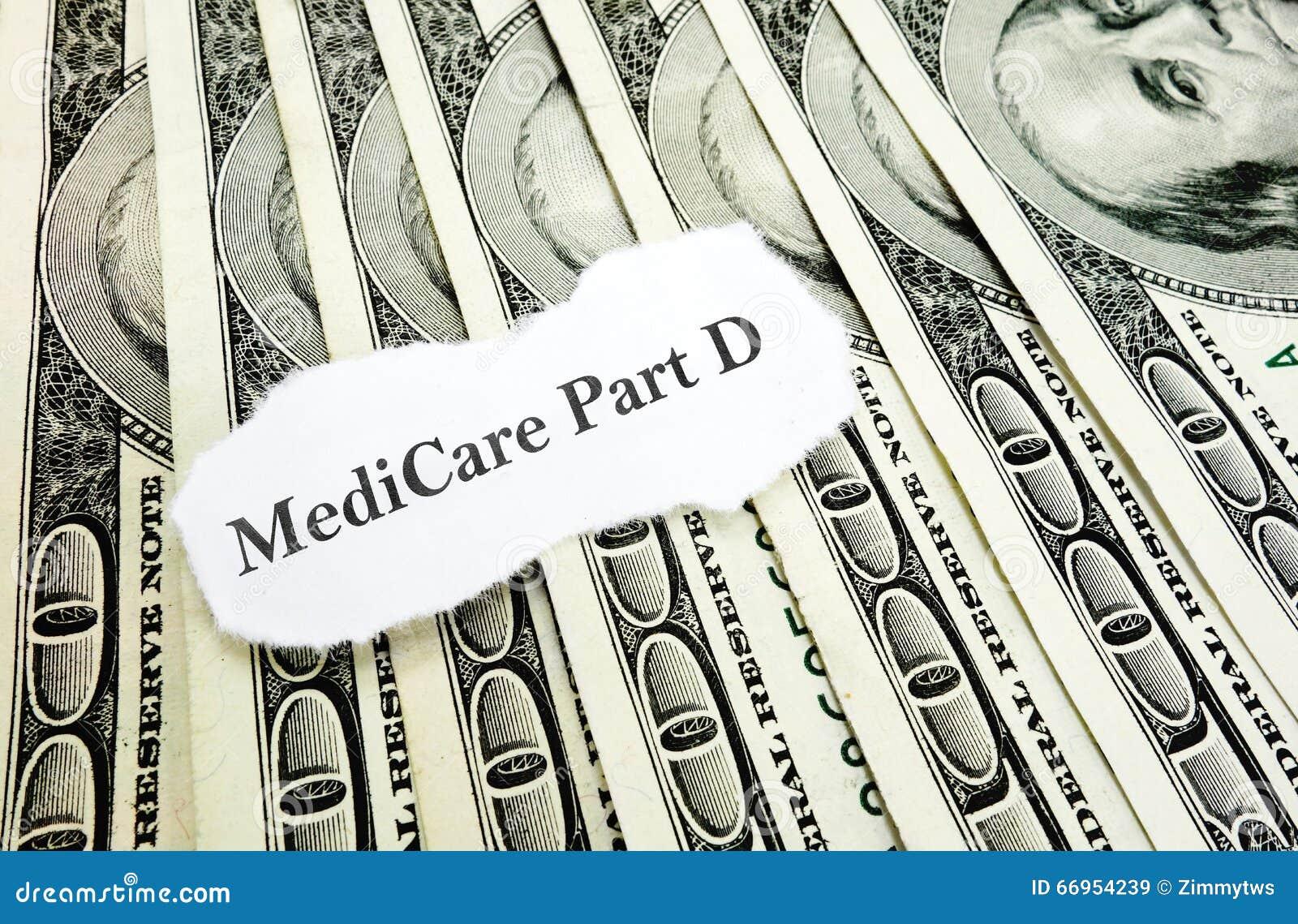 Medicare χρήματα Δ μερών