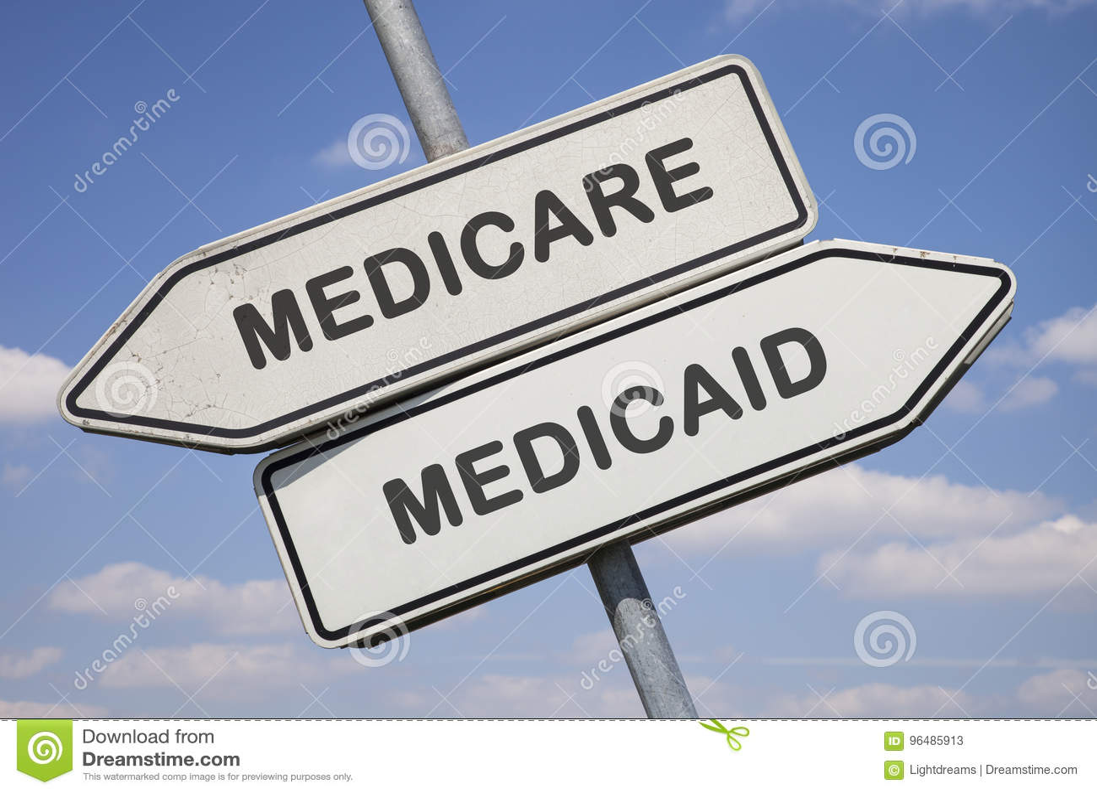 Medicare против medicaid