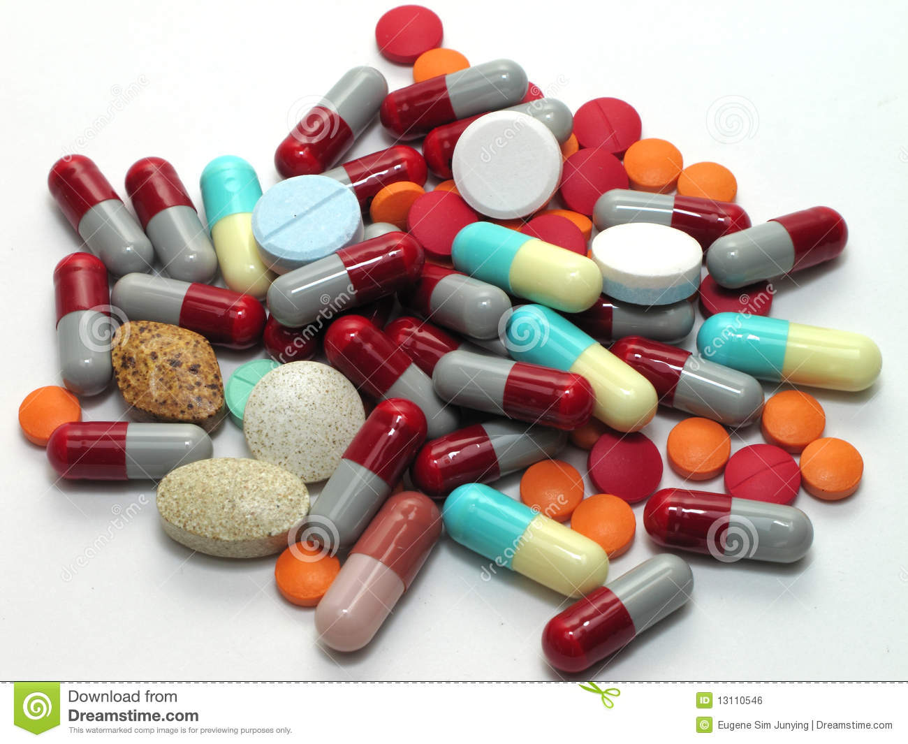 Medication In A Pile Royalty Free Stock Image - Image ...