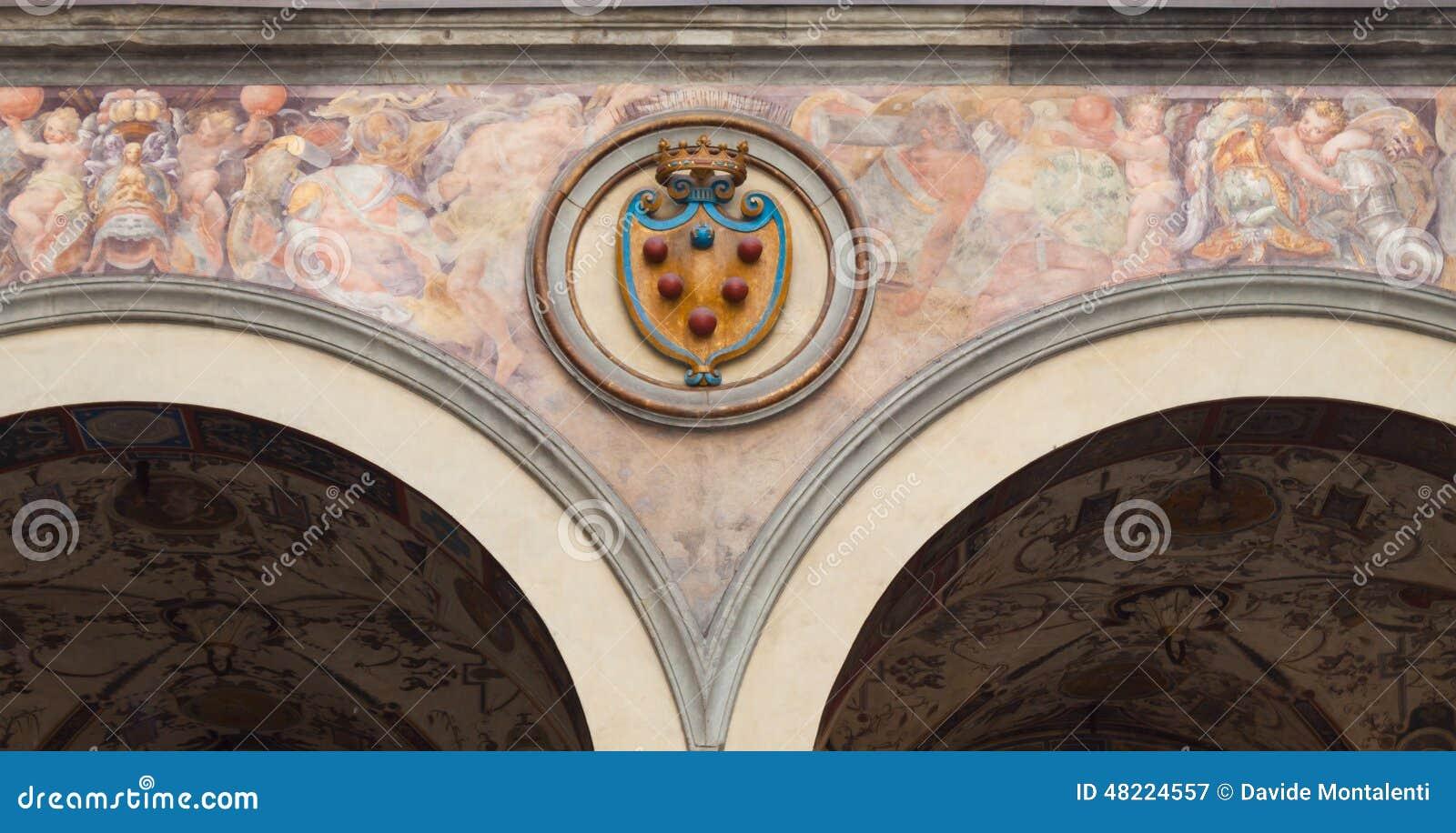 Medici emblem - Florence