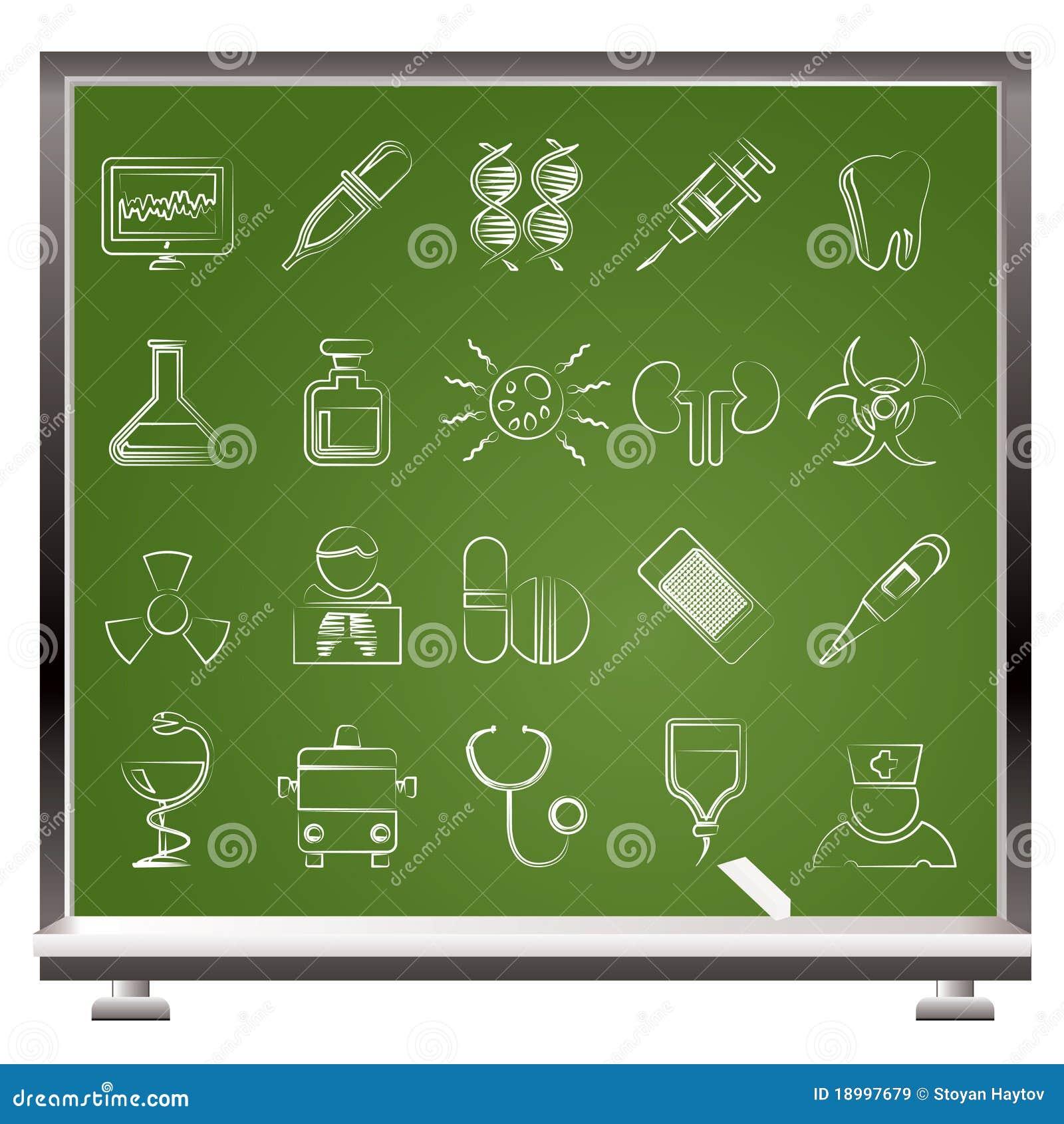 Medicin för sjukvårdsjukhussymboler