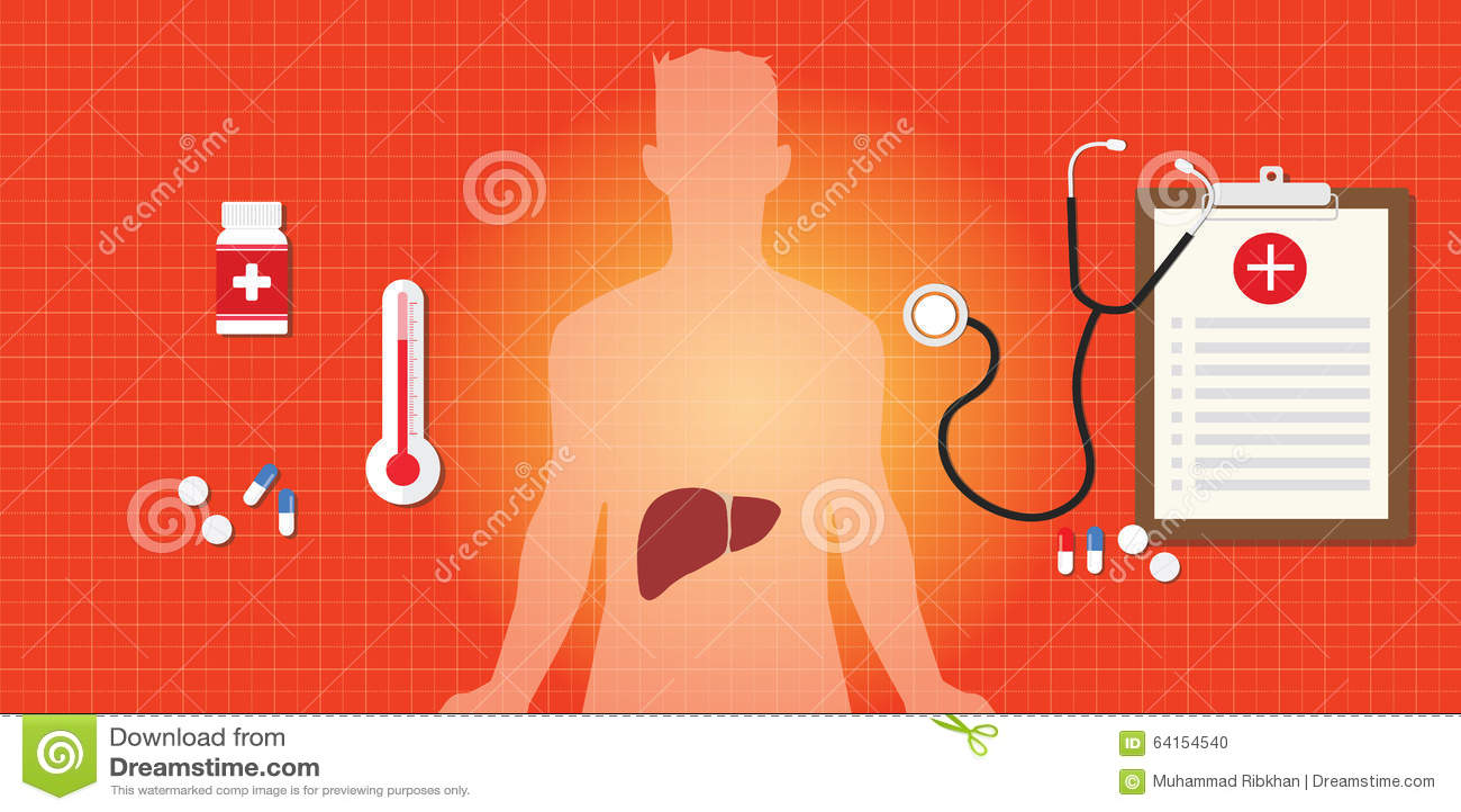 Medicina del virus dell organo umano di affezione epatica di epatite virale A b c