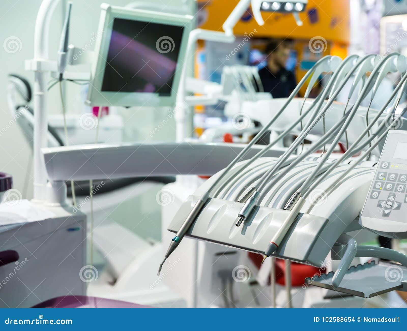 Medicina, dentista, stomatologia, sedile dentario nessuno