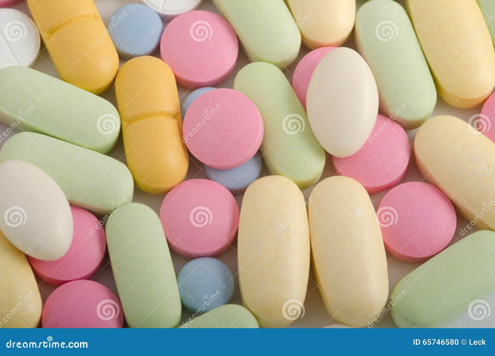 Medicina y farmacia de las píldoras