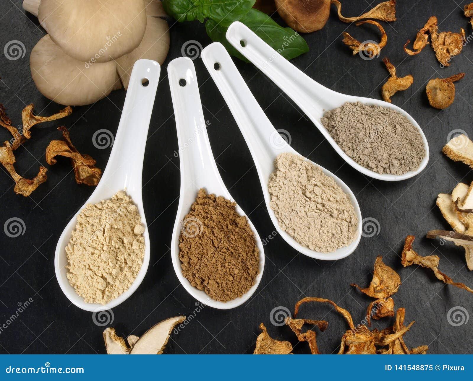 Medicinal Mushrooms - Healthy Nutrition