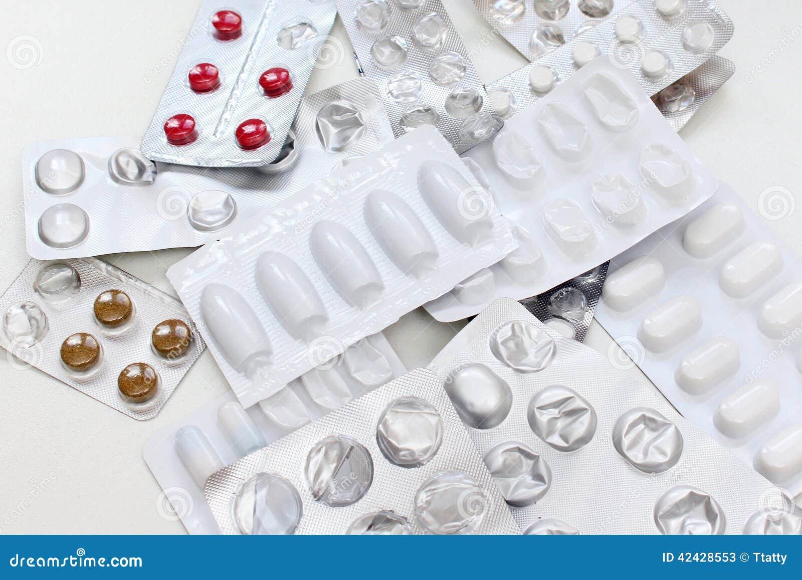 Medicinas de la prescripción