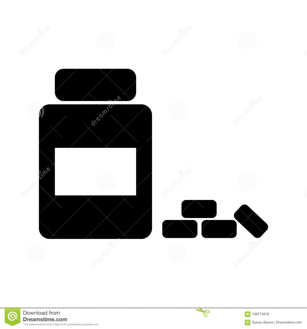 Medicine bottle icon doctor element icon premium quality graphic signs outline symbols collection icon for websites web design mobile app info graphics on white background buycottarizona Choice Image