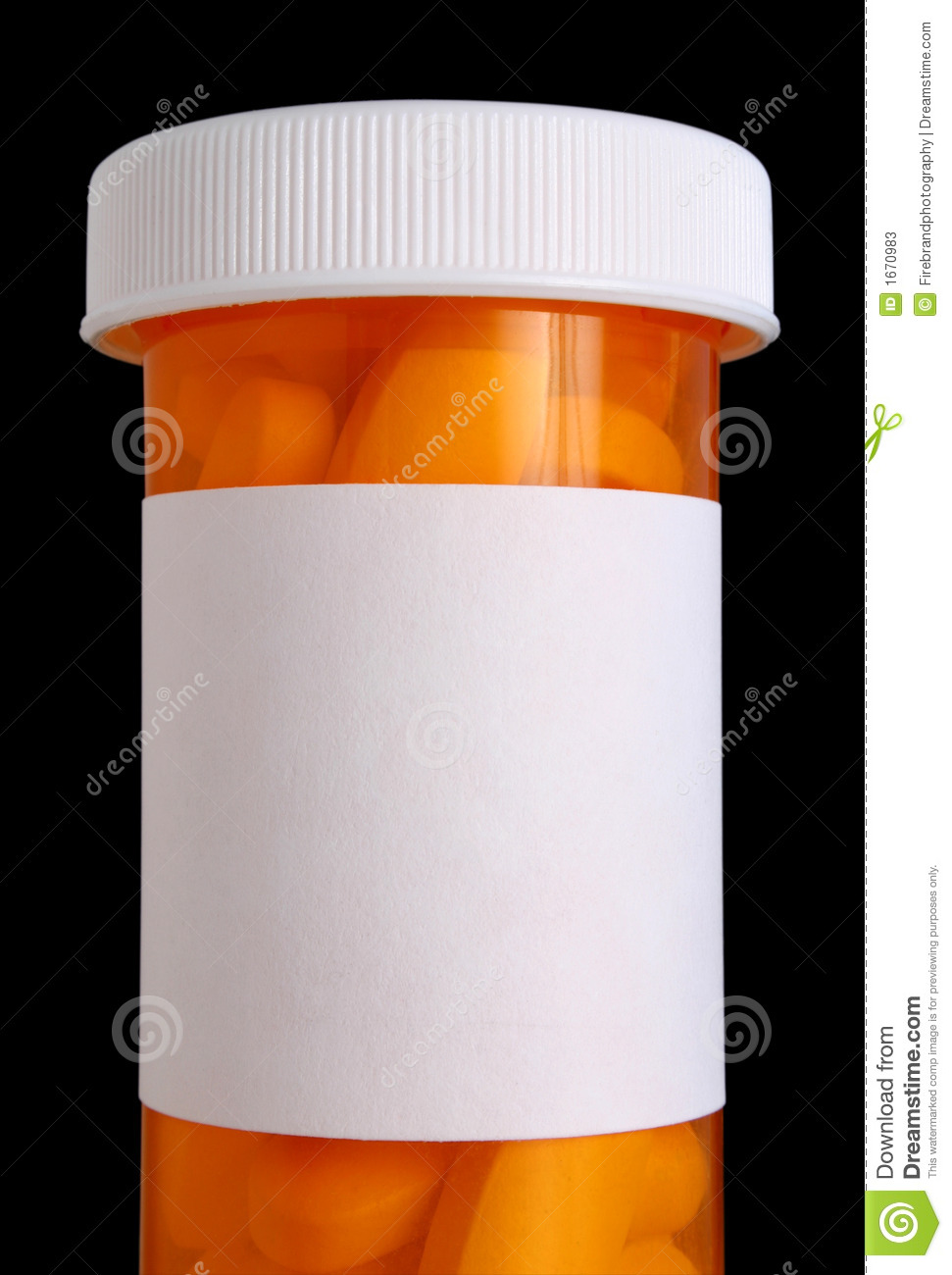 Medicine Bottle With Pills Stock Photos Image 1670983