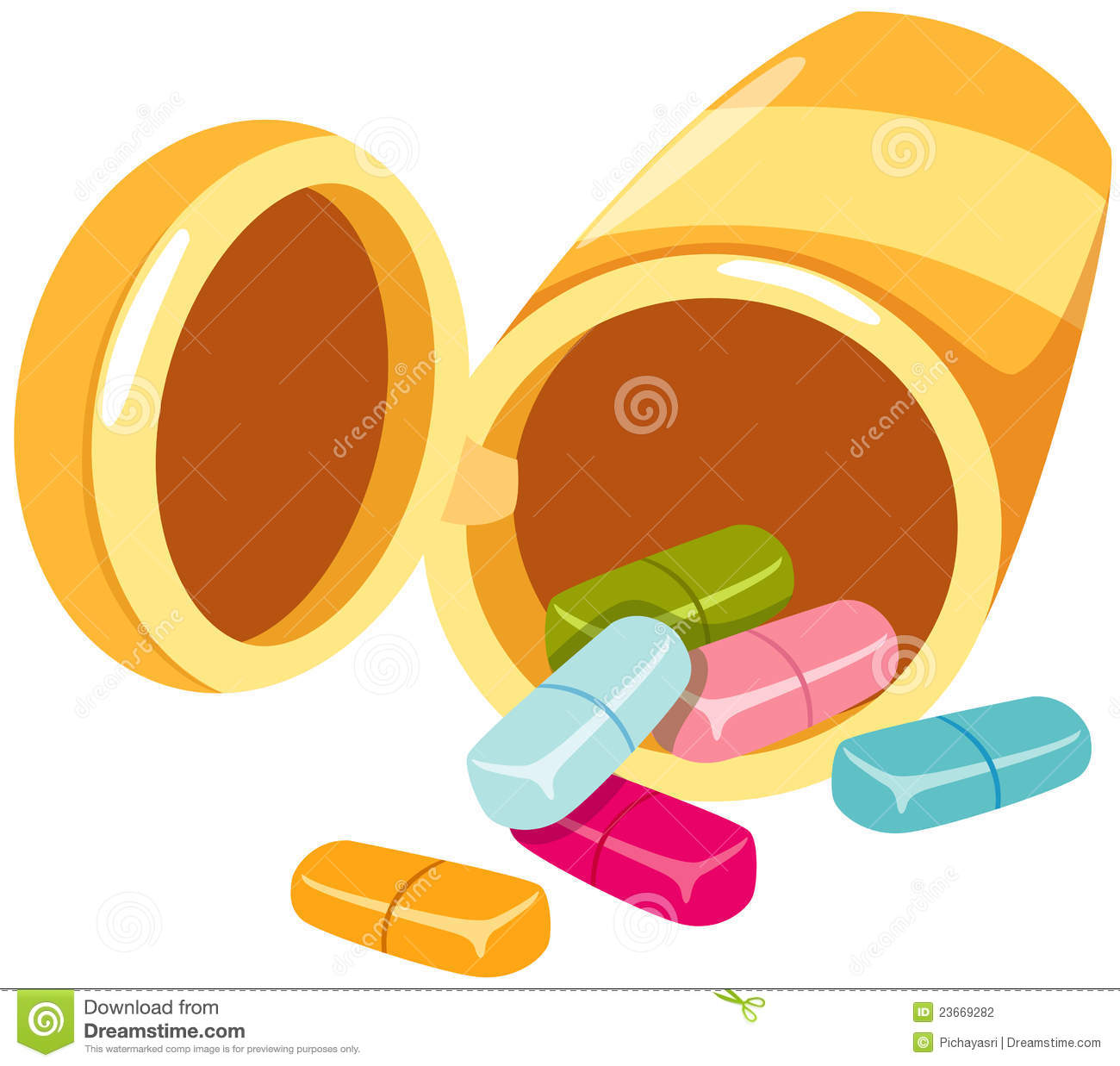 medicine bottle and tablets stock photography image