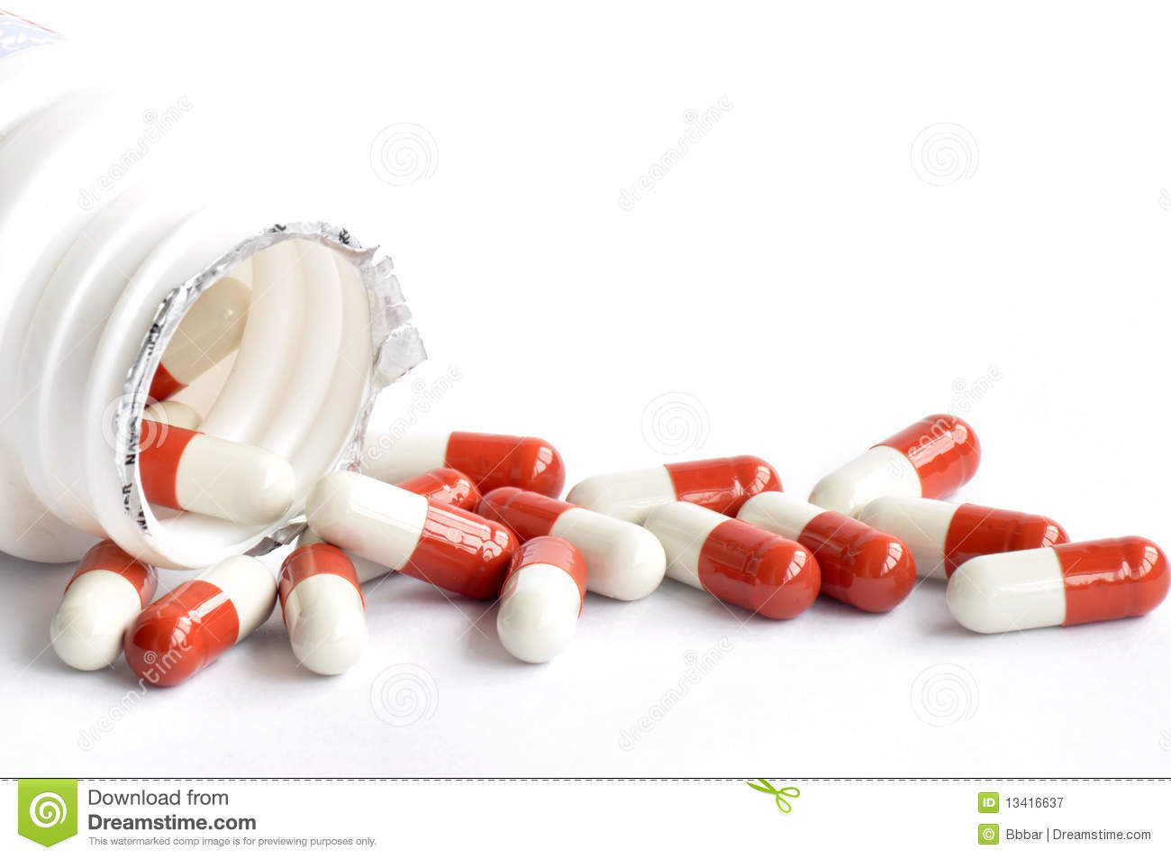 Medicine Capsules Royalty Free Stock Photography - Image: 13416637