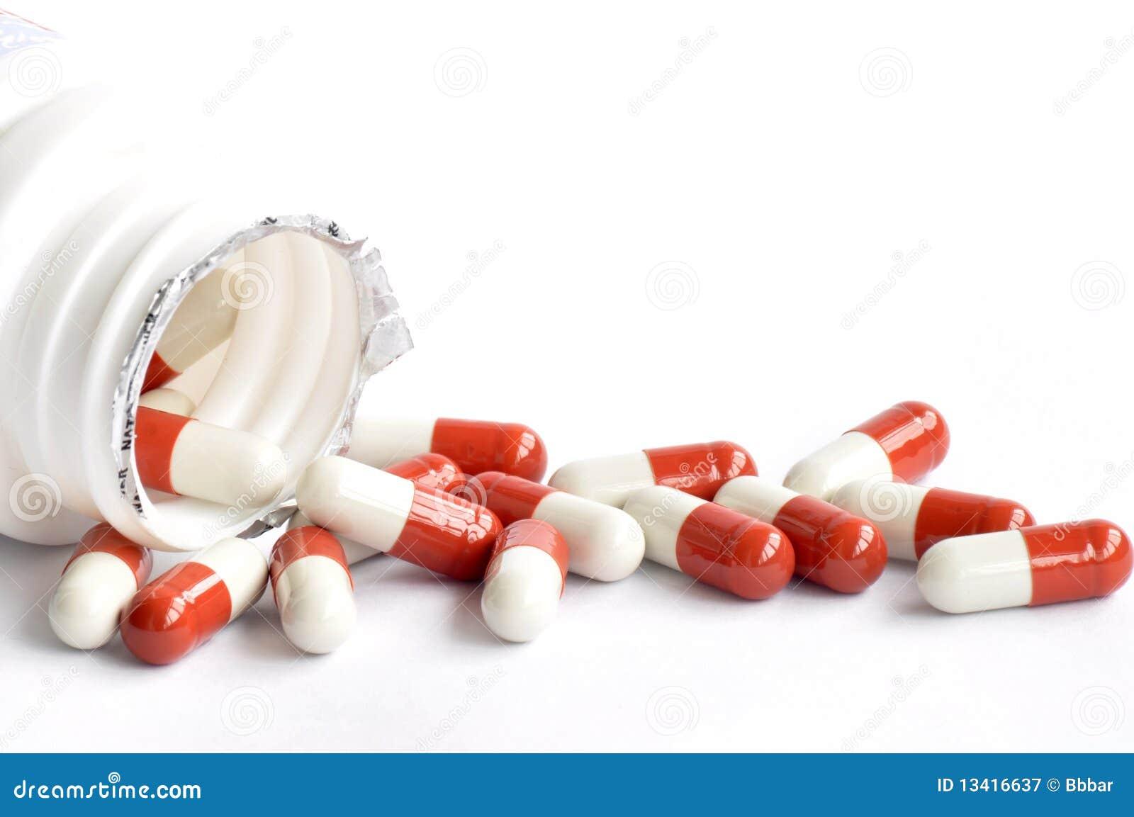 Medicine capsules stock image. Image of medicine, aspirin ...