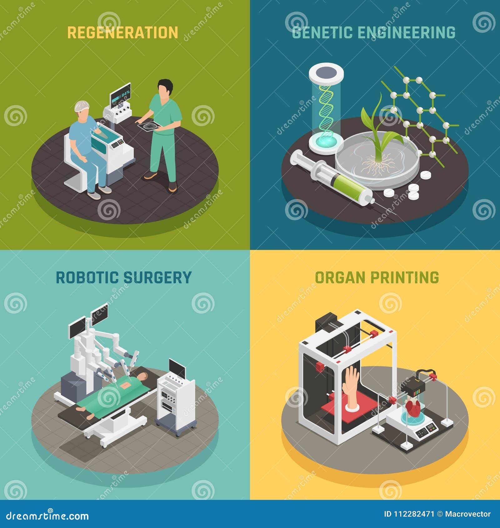 Medicine Future Technology Concept Stock Vector - Illustration of