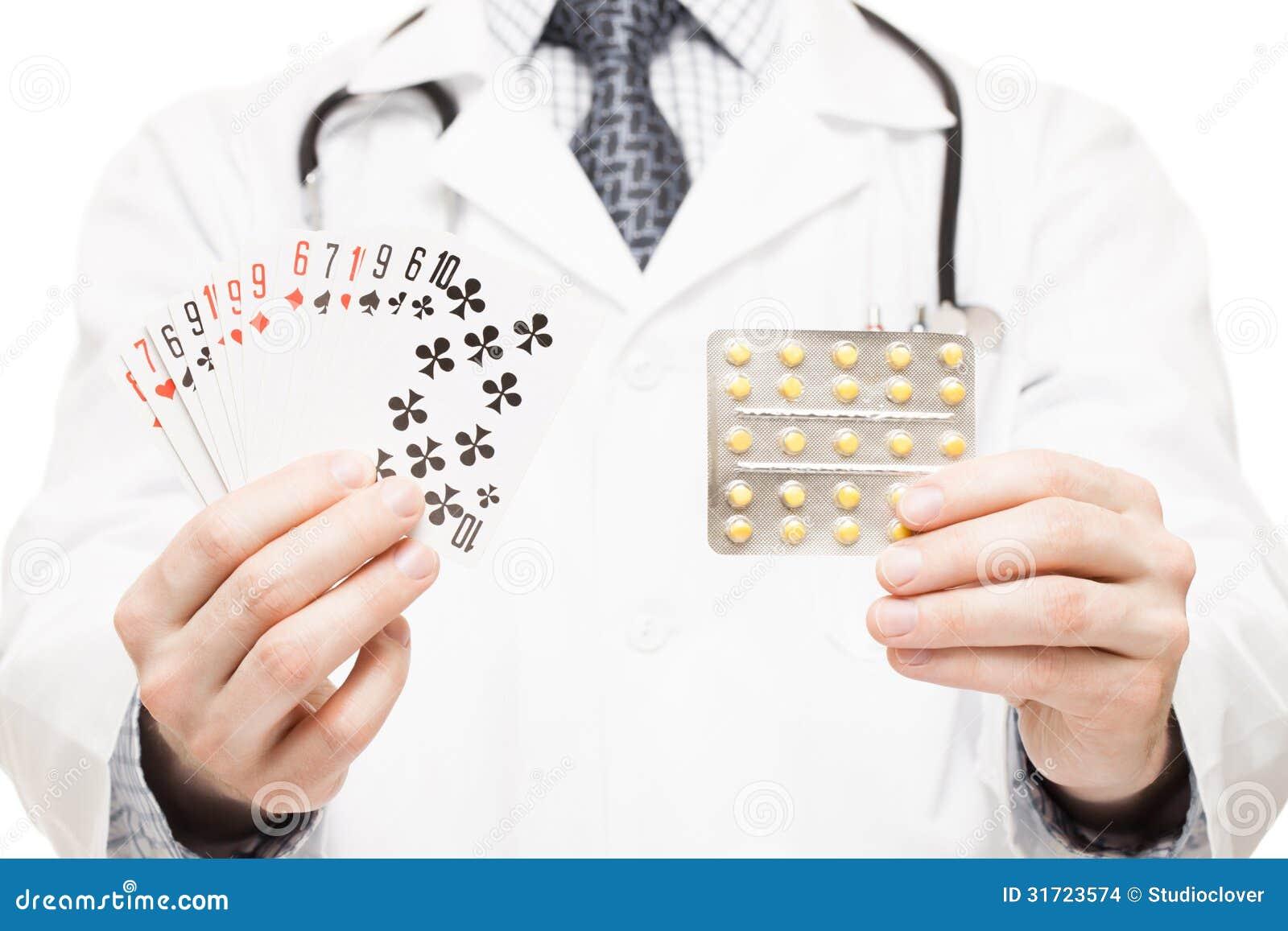 Nursing diagnosis for gambling