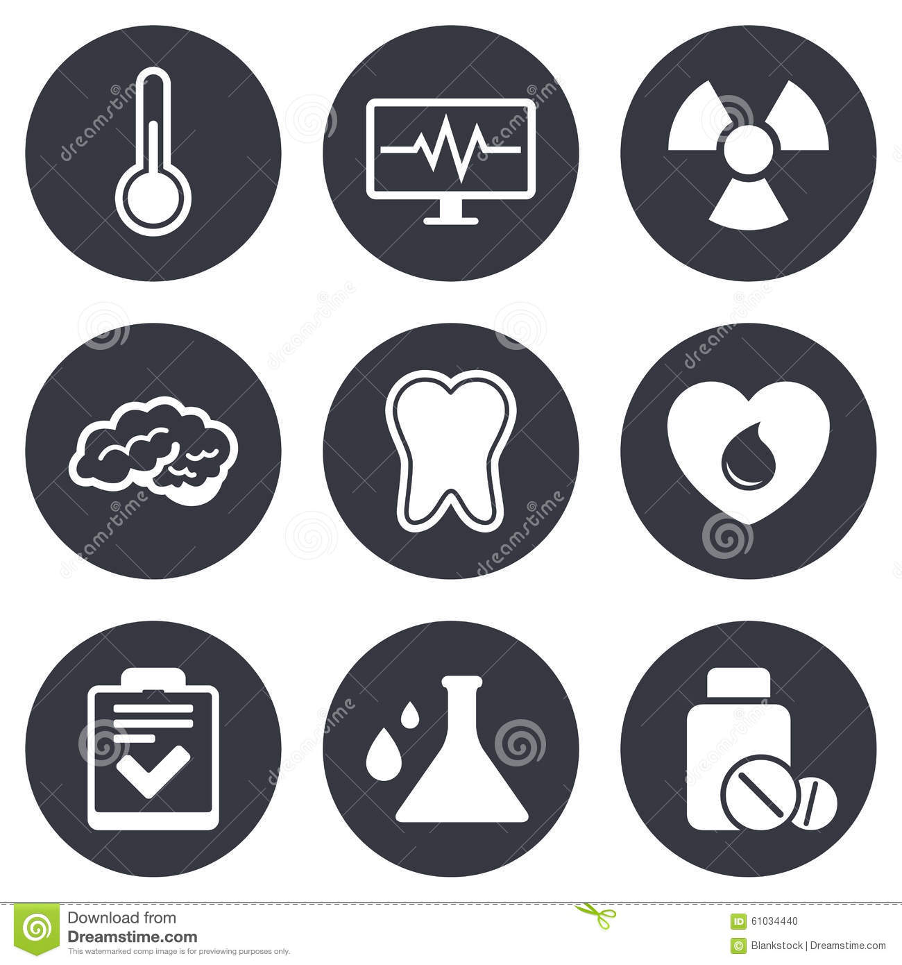 Medicine medical health and diagnosis icons stock vector medicine medical health and diagnosis icons biocorpaavc Gallery