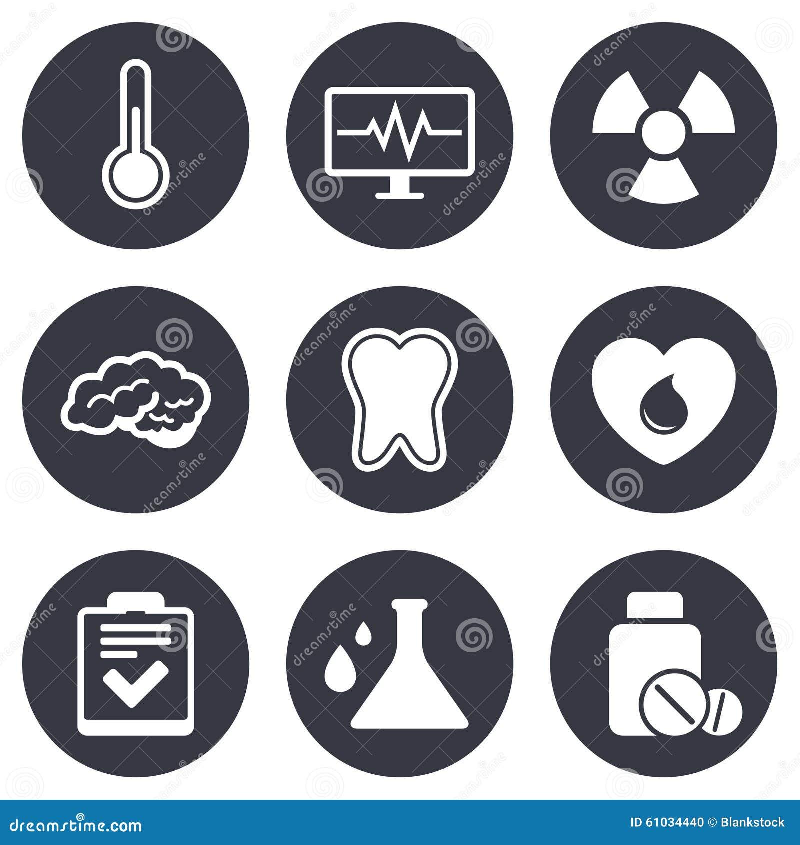 Medicine medical health and diagnosis icons stock vector medicine medical health and diagnosis icons biocorpaavc
