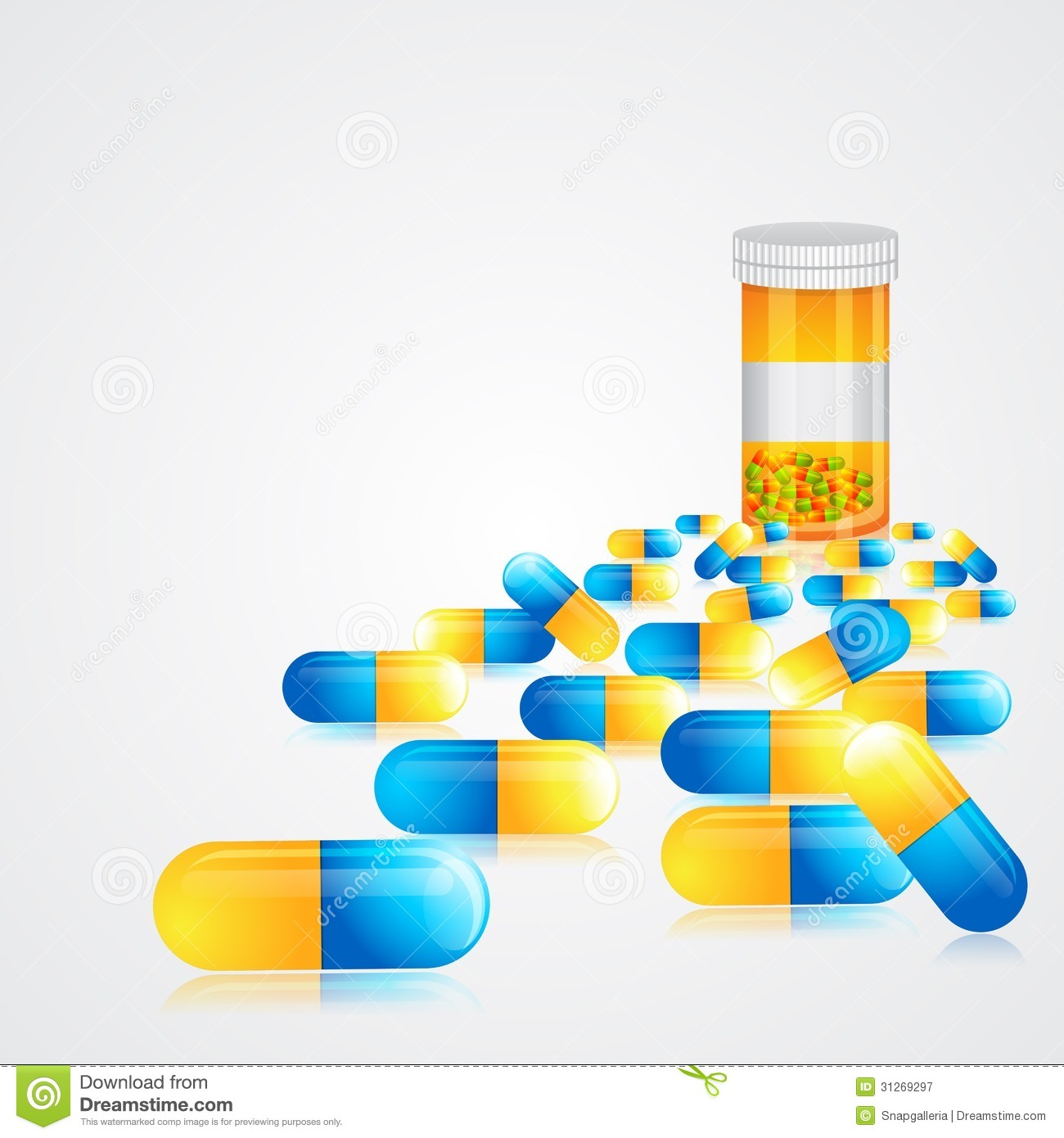Medicine pills royalty free stock photography image Online vector editor