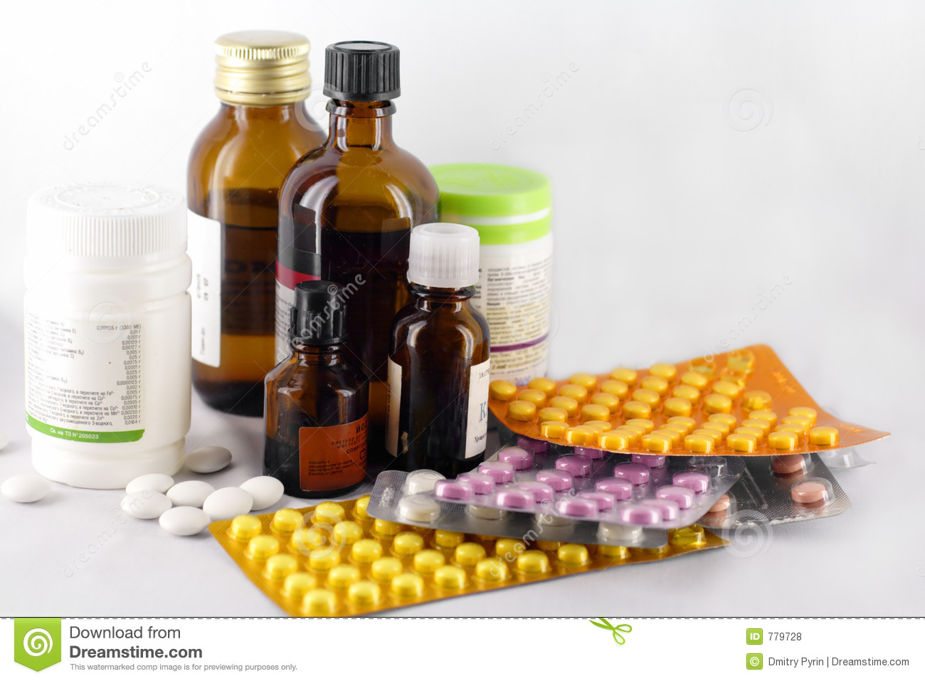 Medicines 2 Royalty Free Stock Photos - Image: 779728