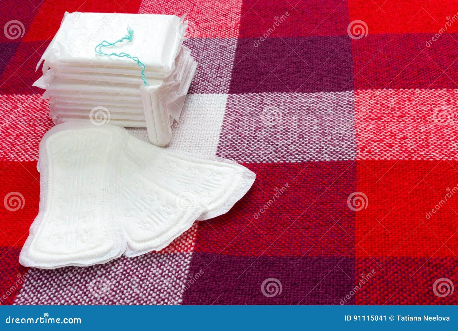 Medicinsk befruktning För menstruation tamponger för sanitärt block och bomullsför kvinnahygienskydd Mjukt mjukt skydd för kvinna