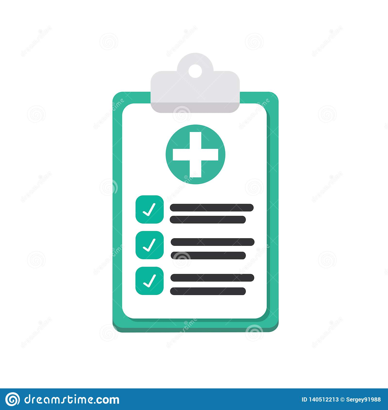 Medicinsk legitimationshandlingar, försäkring som isoleras på bakgrund Manipulera dokument, skrivbordsarbete, plan bakgrunds- och