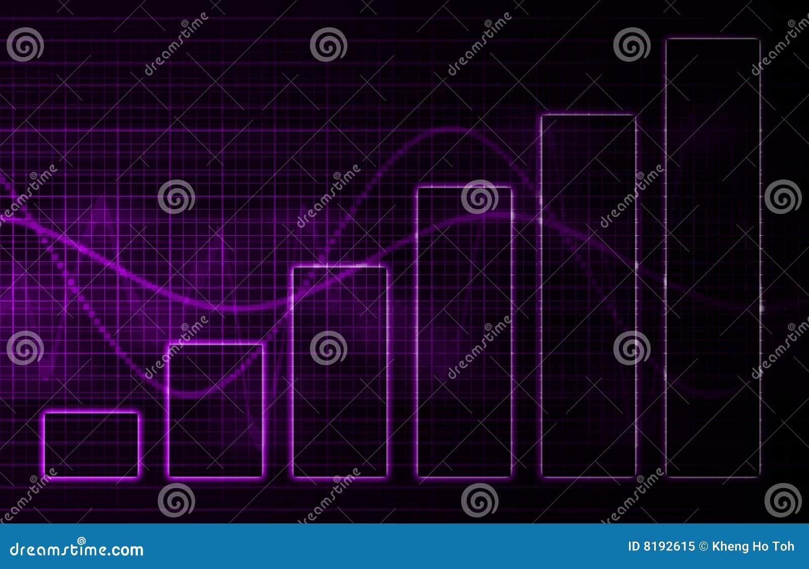 Medicinsk purpur vetenskapsteknologi för bakgrund