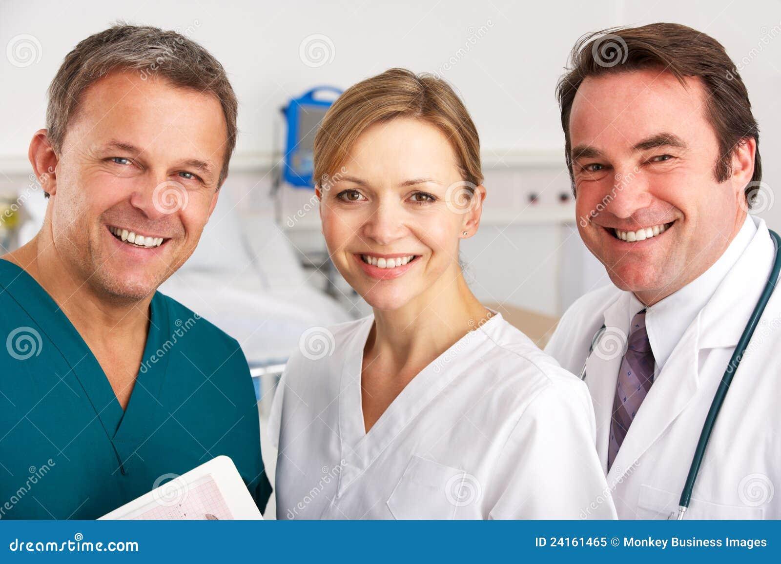 Medicinskt lag för stående på sjukhussal