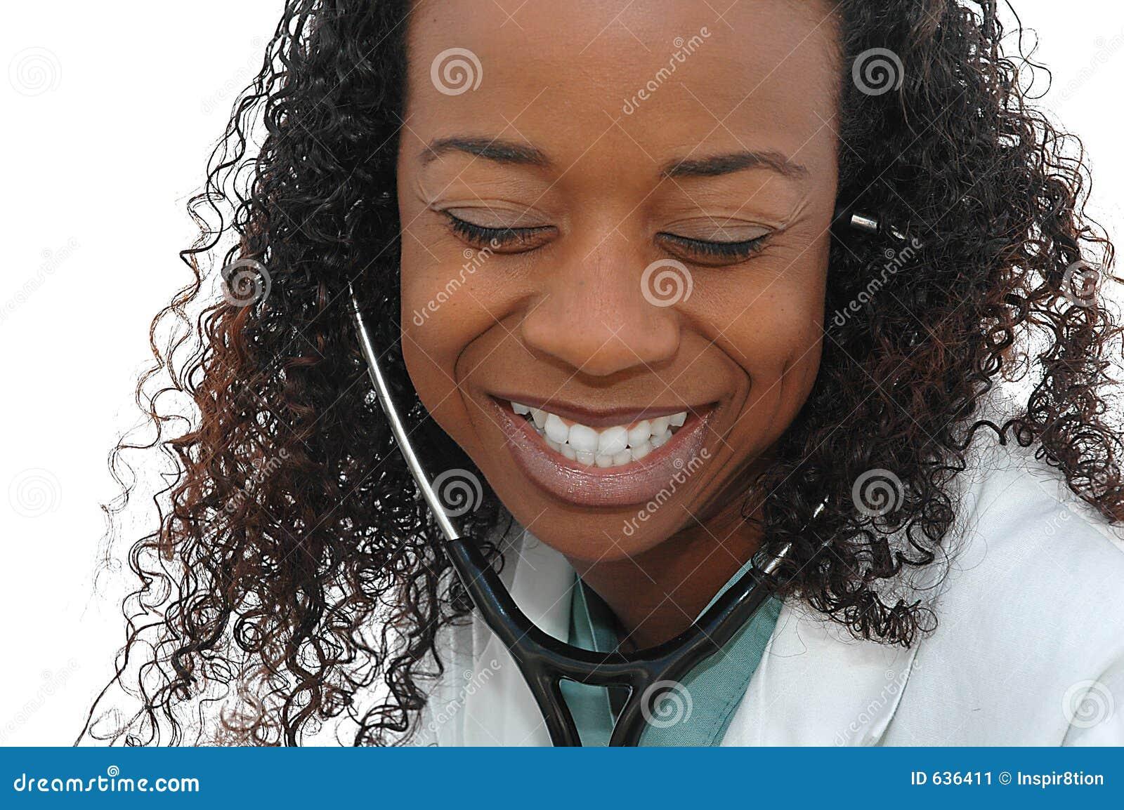 Medico sorridente
