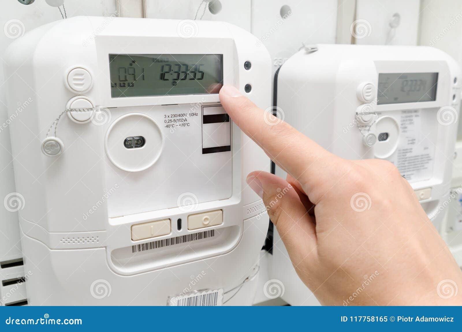 Medidor da energia elétrica
