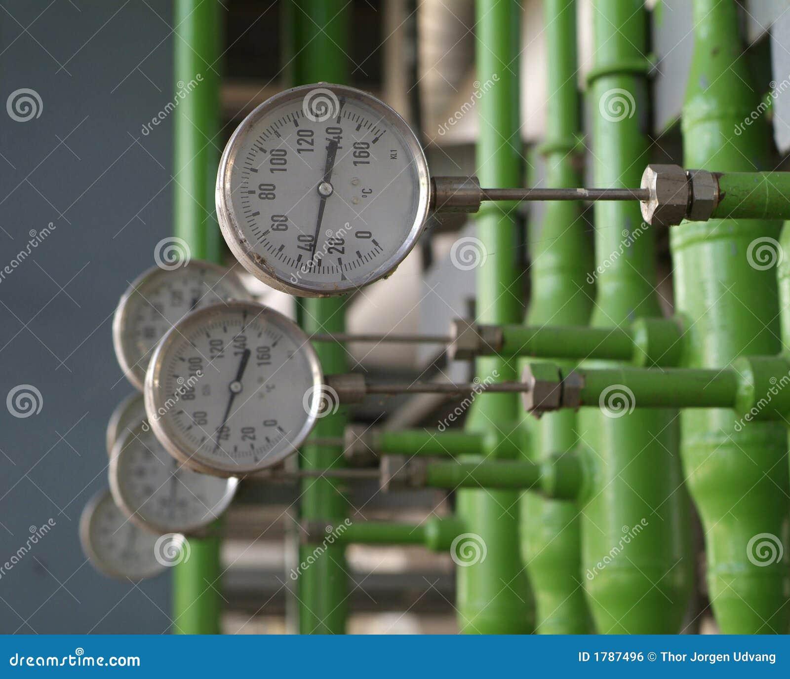 Medidores industriais da temperatura