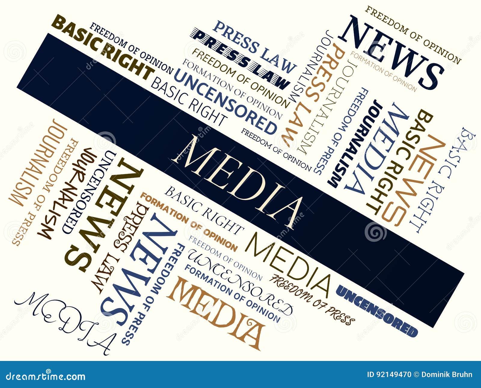 MEDIEN - Wortwolke - MEDIEN - Wortwolke - JOURNALISMUS - JOURNALISMUS -  Wortwolke - FREIHEIT DER
