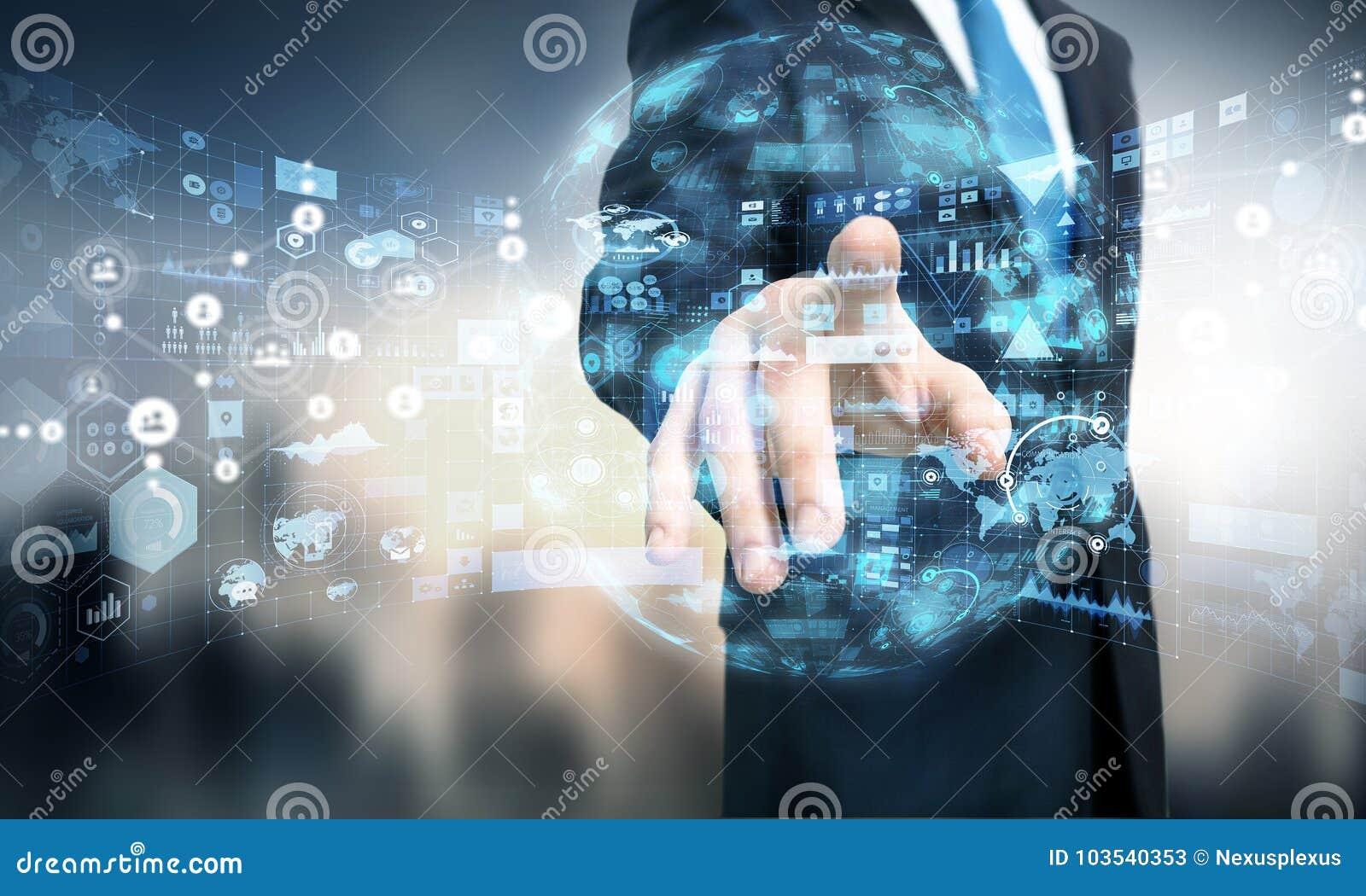 Medientechniken für Geschäft Gemischte Medien