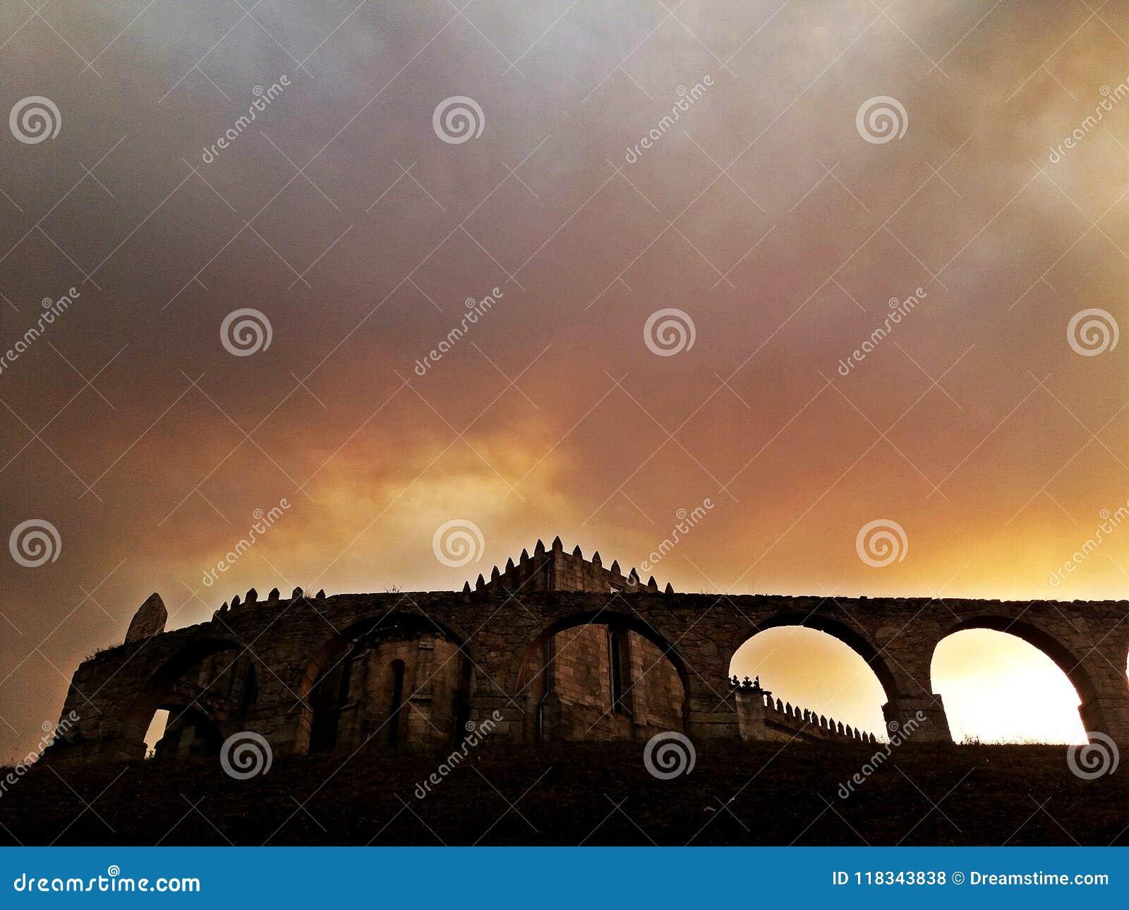 Medieval Abbey of Santa Clara, Vila do Conde, near Porto, Portugal