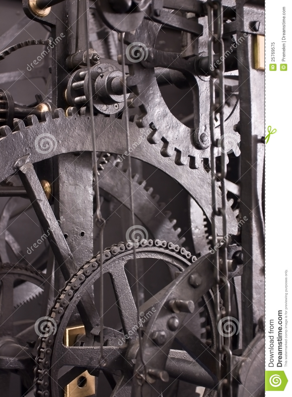 Medieval Astronomical Clock Gearing - Interior Royalty ...