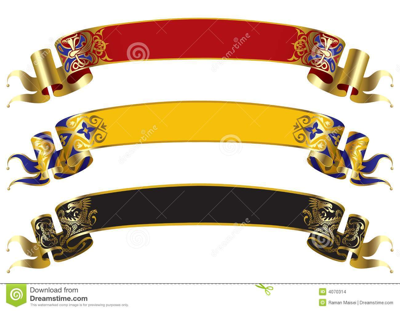 Shield design set royalty free stock photos image 5051988 - Medieval Banners Stock Images Medieval Banners Shield Design Set Stock Images