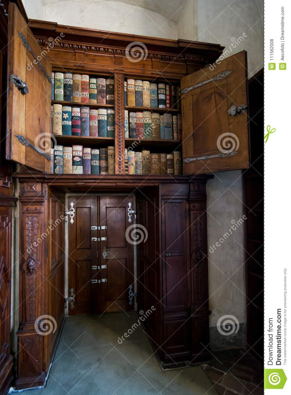 Old Library In Prague Castle