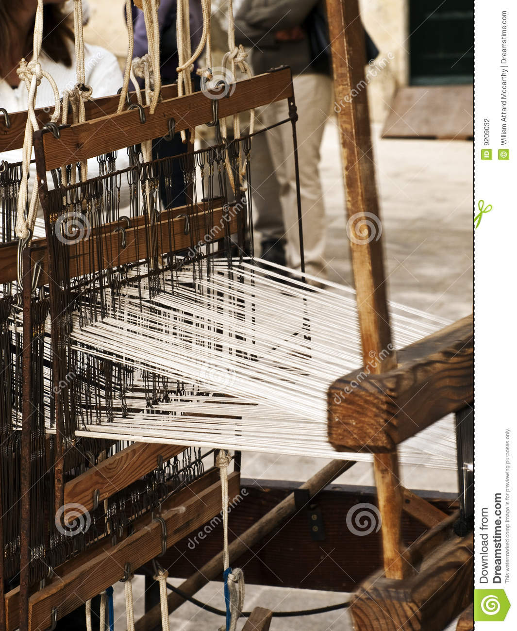 Medieval Carpet Weaving Stock Photo Image Of Medieval