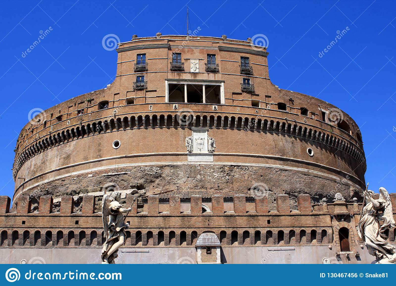 Castel Sant`Angelo in Rome, Italy