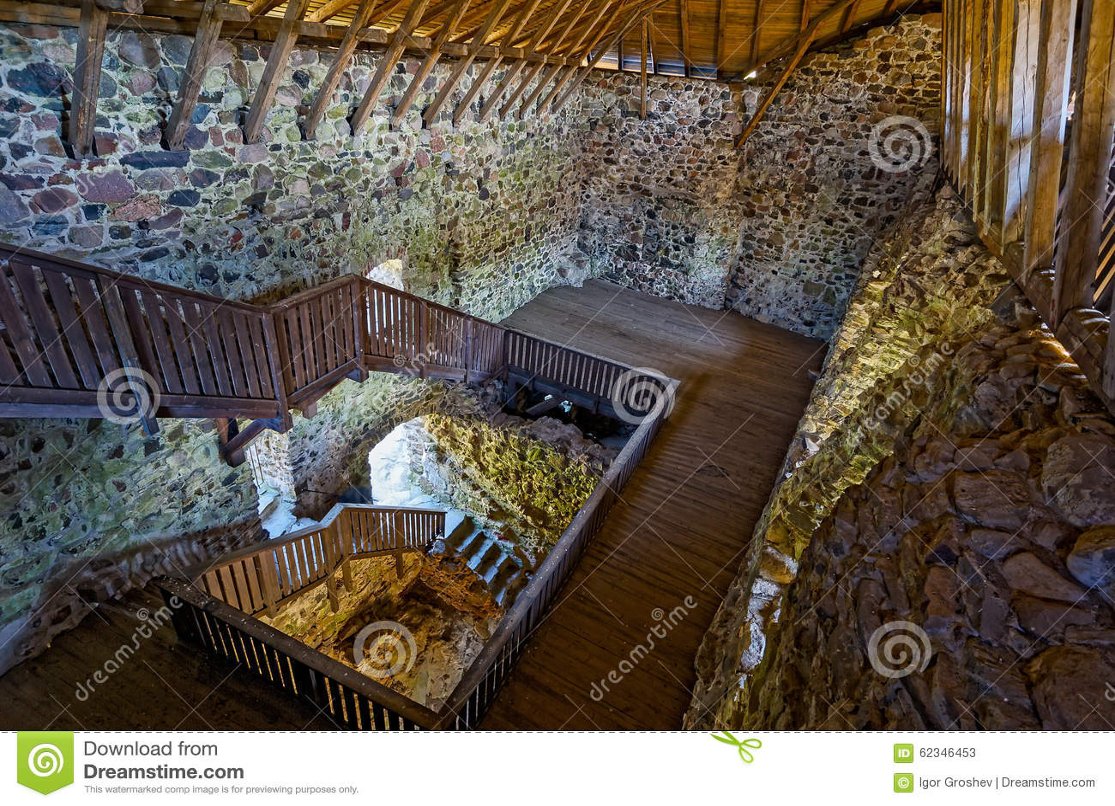 medieval castle interior stock image image of fort medieval 62346453