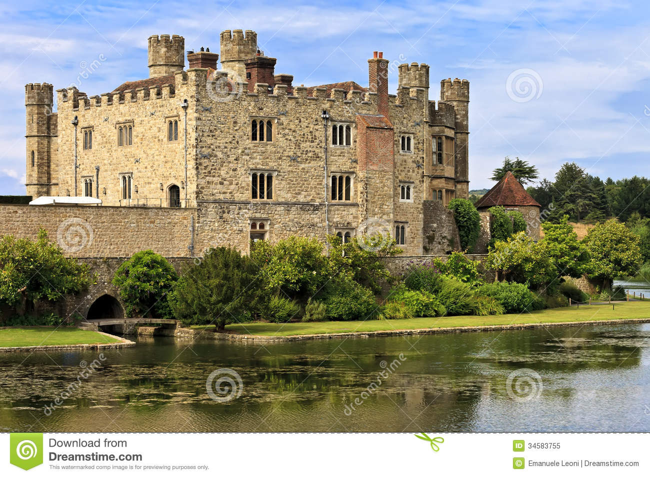 Kent United Kingdom  City new picture : Medieval Castle Of Leeds, In Kent, England, United Kingdom Royalty ...
