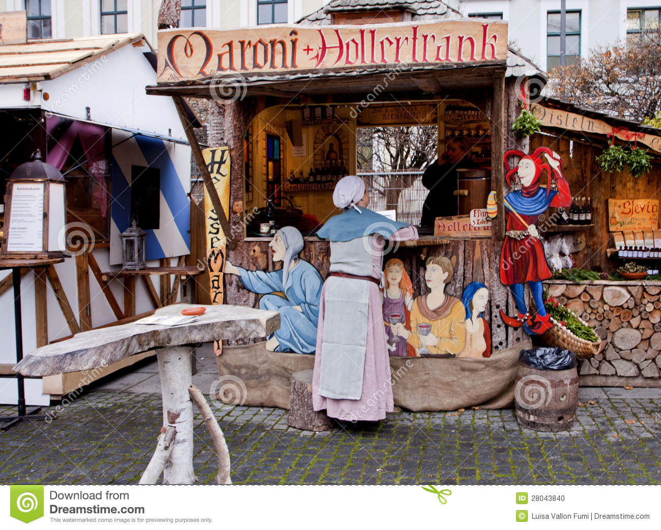 medieval christmas market munich germany editorial image image of gift december 28043840. Black Bedroom Furniture Sets. Home Design Ideas