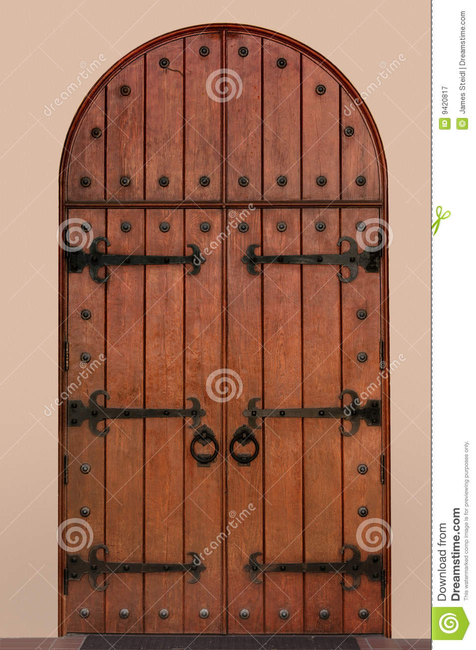 Download comp & Medieval Door stock image. Image of double antique doors - 9420817