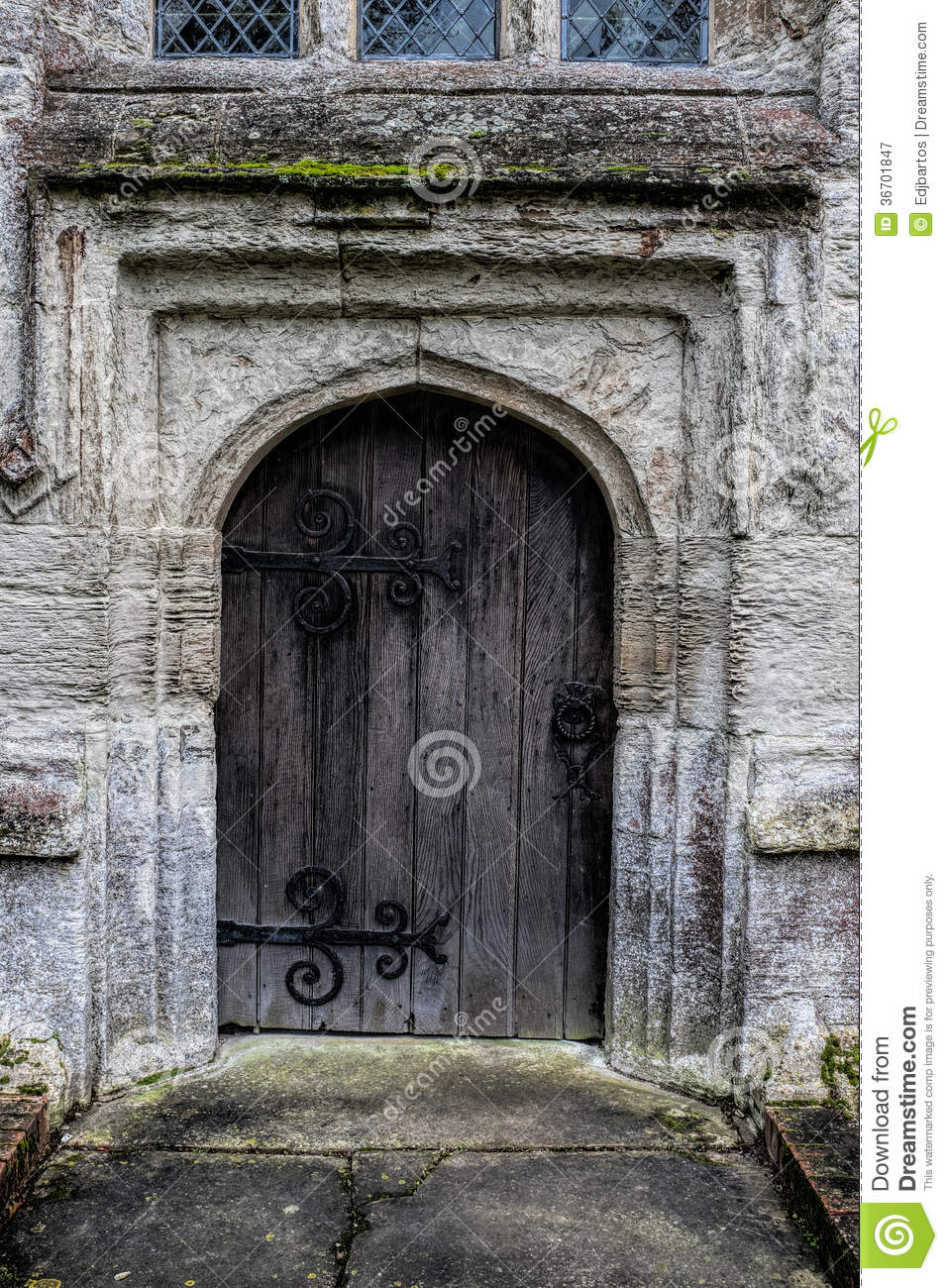 Medieval Doorway Royalty Free Stock Photography Image