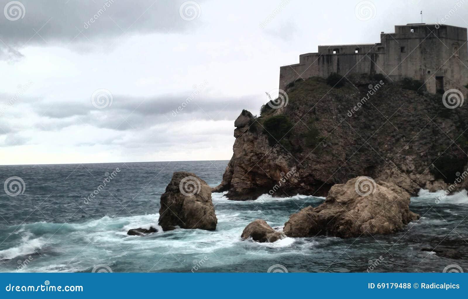 Medieval Dubrovnik Croatia Game Of Thrones Stock Photo
