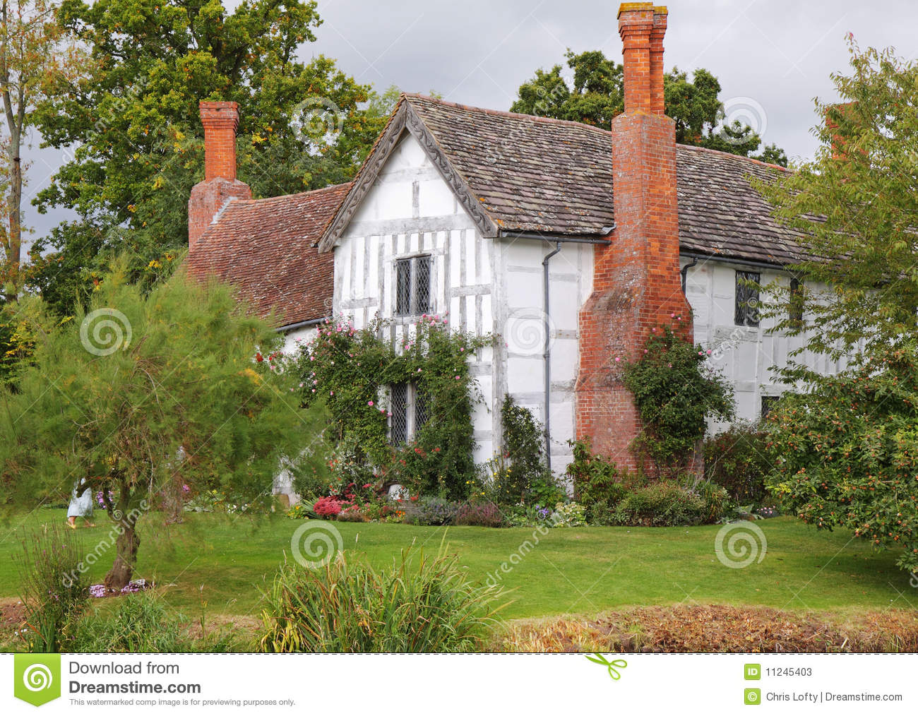 Medieval English Manor House Stock Photos Image 11245403