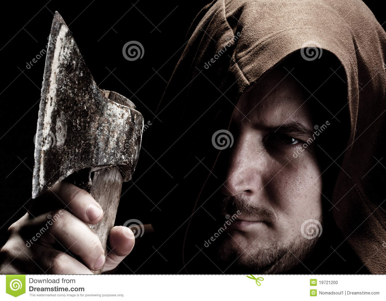 Medieval executioner stock photo. Image of furious, cruel ...