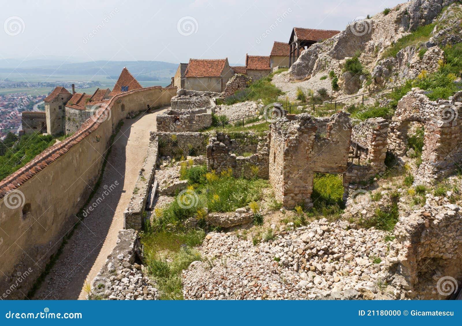 Medieval fortress Rasnov