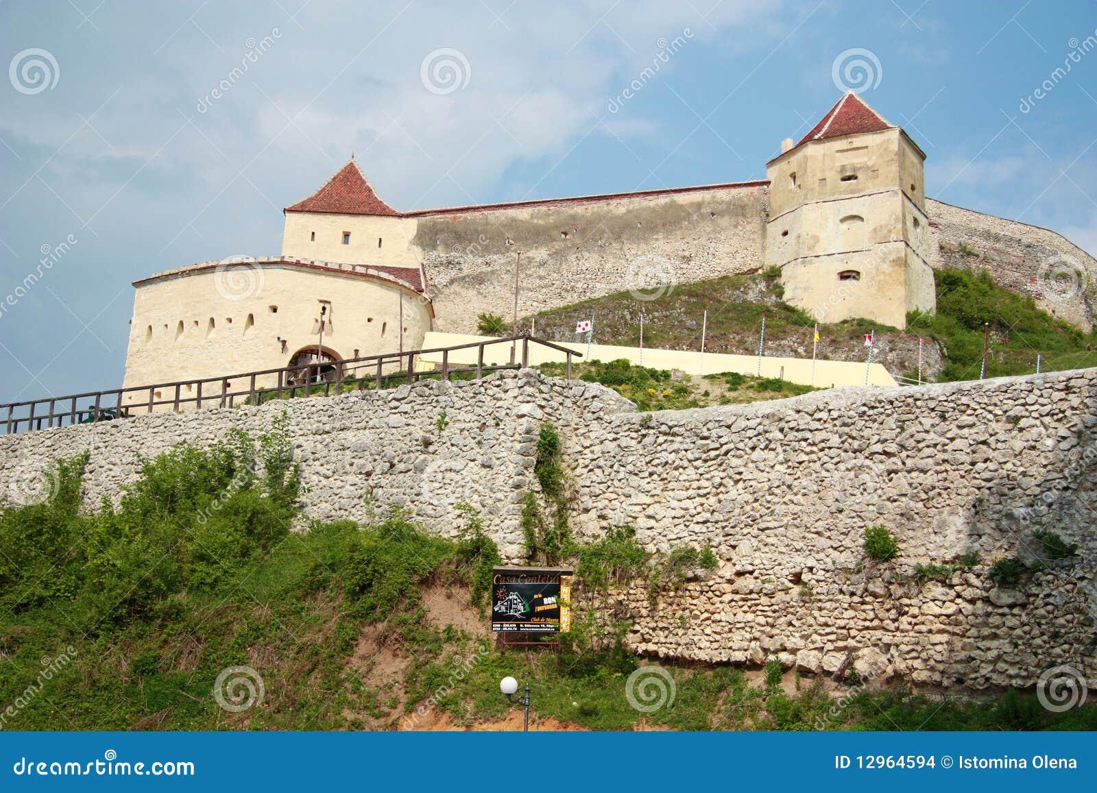 Medieval fortress rasnov, Romania