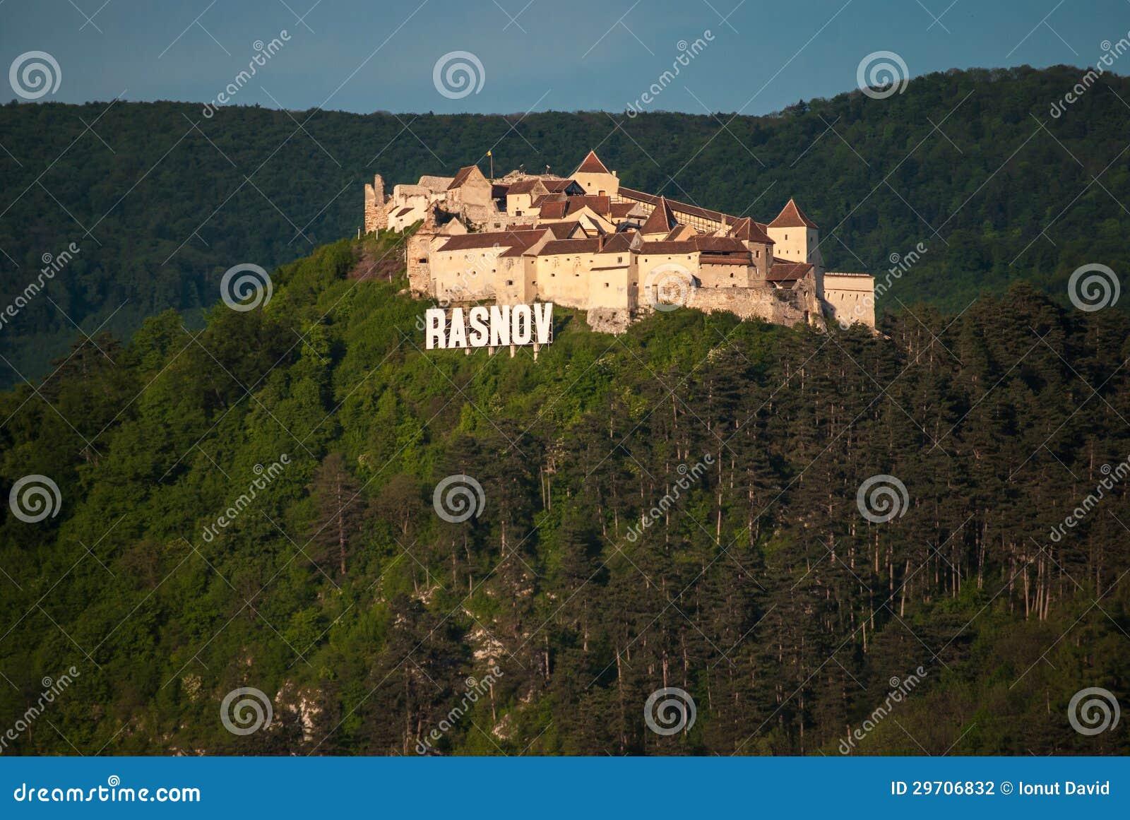 Download Rasnov Fortress stock photo. Image of landscape, rock - 29706832